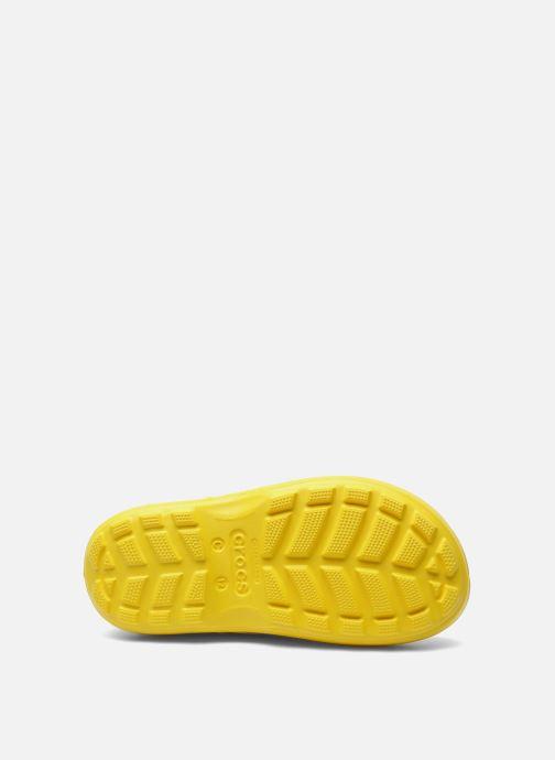 Bottes Crocs Handle it Rain Boot kids Jaune vue haut