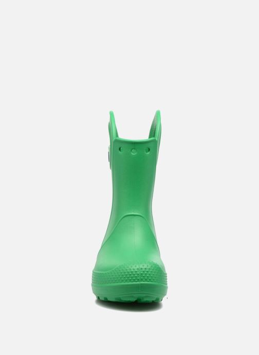 Botas Crocs Handle it Rain Boot kids Verde vista del modelo