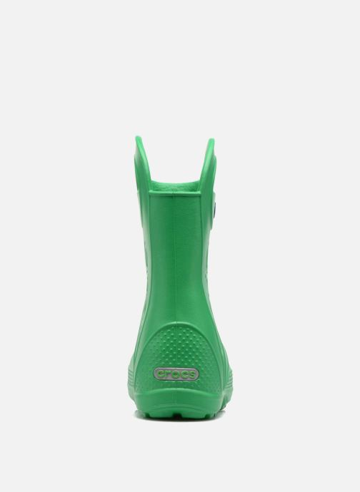 Boots & wellies Crocs Handle it Rain Boot kids Green view from the right