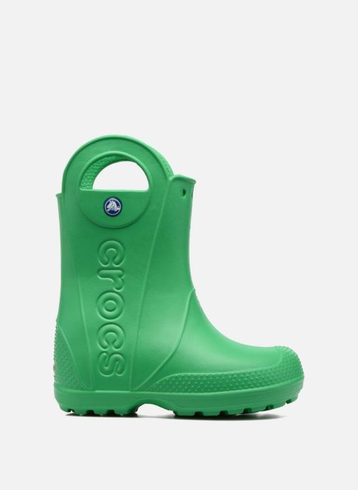 Botas Crocs Handle it Rain Boot kids Verde vistra trasera