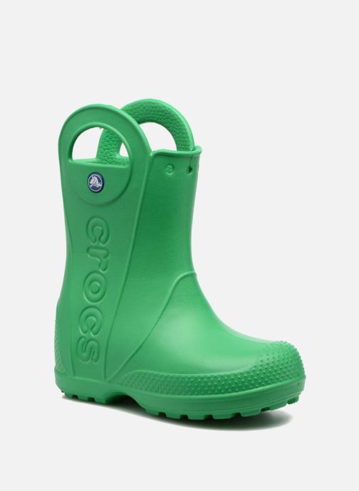 Boots & wellies Crocs Handle it Rain Boot kids Green detailed view/ Pair view