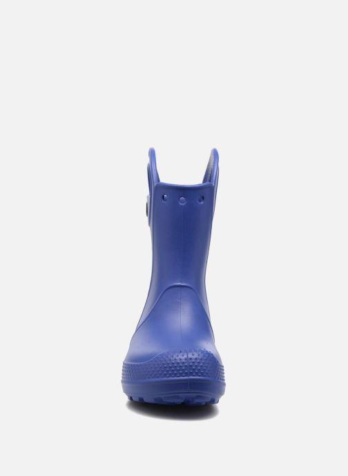 Bottes Crocs Handle it Rain Boot kids Bleu vue portées chaussures
