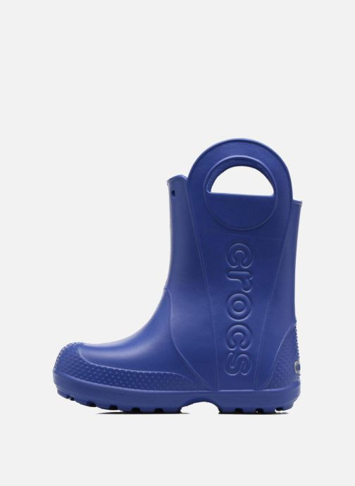 Botas Crocs Handle it Rain Boot kids Azul vista de frente