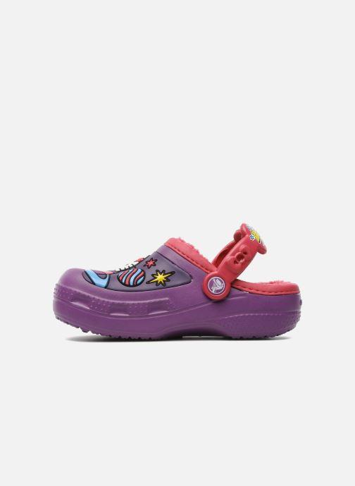 Sandales et nu-pieds Crocs Hello Kitty Space Adventure Lined Clog Violet vue face
