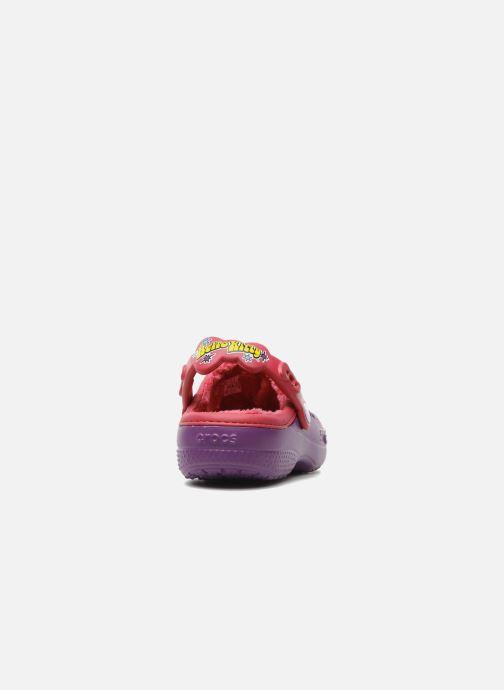 Sandales et nu-pieds Crocs Hello Kitty Space Adventure Lined Clog Violet vue droite
