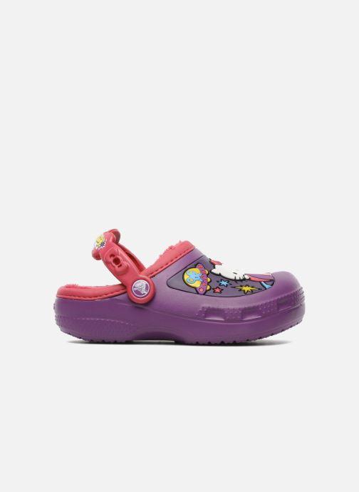 Sandales et nu-pieds Crocs Hello Kitty Space Adventure Lined Clog Violet vue derrière