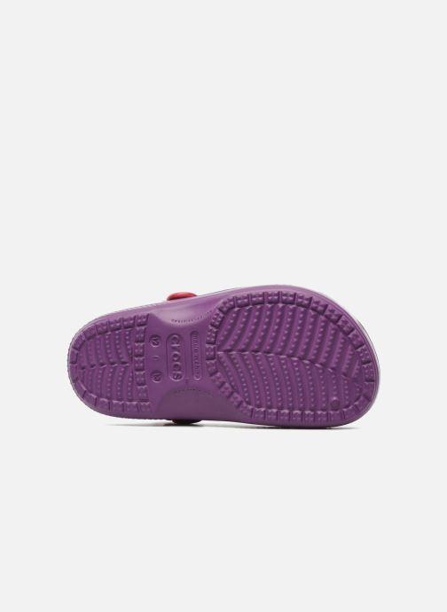 Sandales et nu-pieds Crocs Hello Kitty Space Adventure Lined Clog Violet vue haut