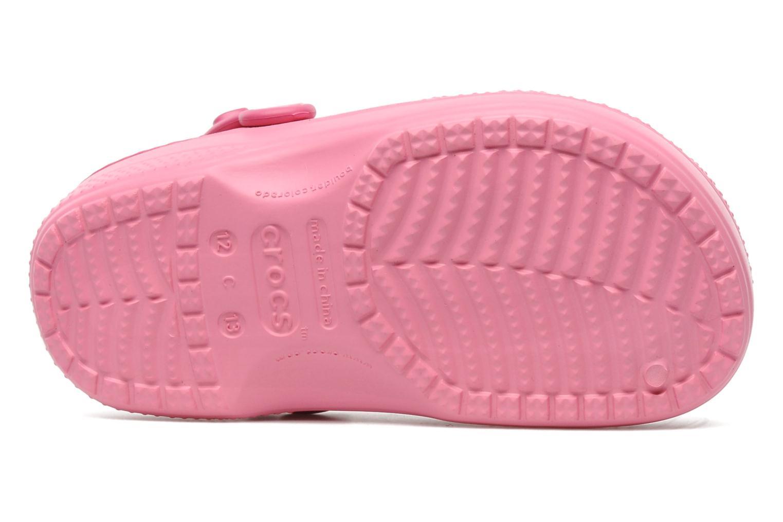 Sandales et nu-pieds Crocs Hello Kitty Space Adventure Lined Clog Rose vue haut