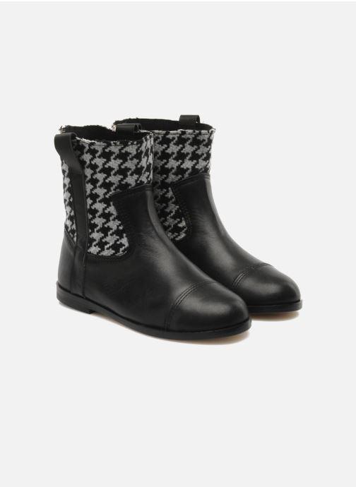 Ankle boots Petite Maloles PETITE SABINE Black 3/4 view