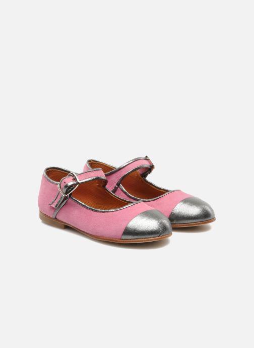 Ballet pumps Petite Maloles PETITE BORALIE Pink 3/4 view