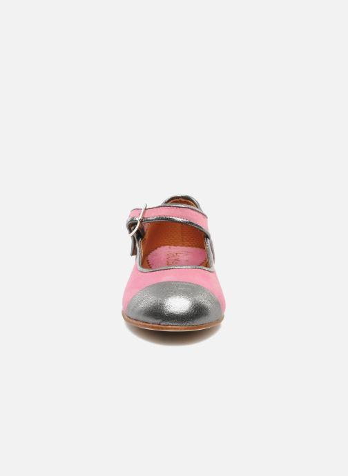 Ballerines Petite Maloles PETITE BORALIE Rose vue portées chaussures