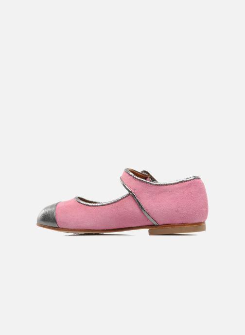 Ballet pumps Petite Maloles PETITE BORALIE Pink front view