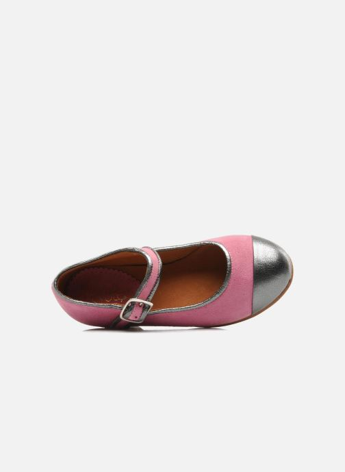 Ballet pumps Petite Maloles PETITE BORALIE Pink view from the left
