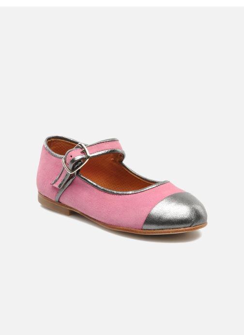Ballet pumps Petite Maloles PETITE BORALIE Pink detailed view/ Pair view