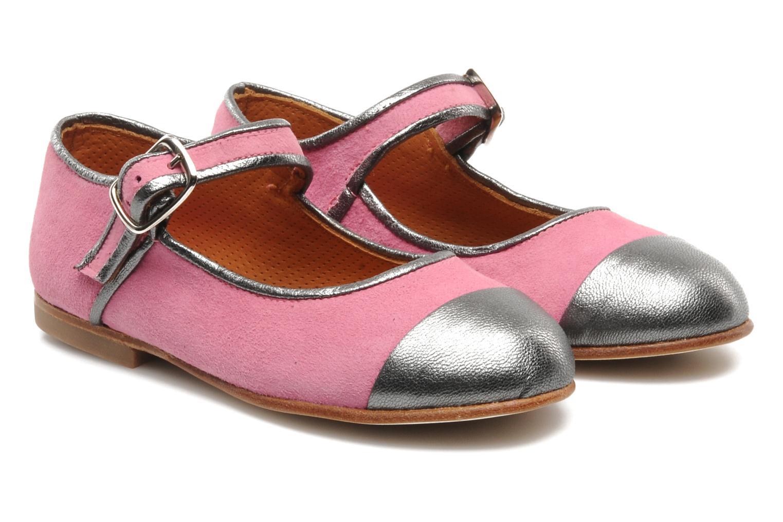 Bailarinas Petite Maloles PETITE BORALIE Rosa vista 3/4