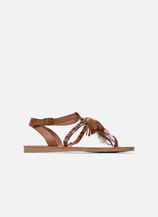 Sandales et nu-pieds Coolway MELROSE Marron vue derrière