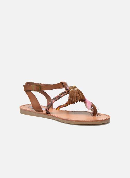 Sandales et nu-pieds Coolway MELROSE Marron vue détail/paire