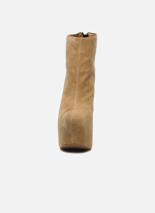 Boots en enkellaarsjes Jeffrey Campbell NITEMATE (WITH GOLD STAR) Beige model