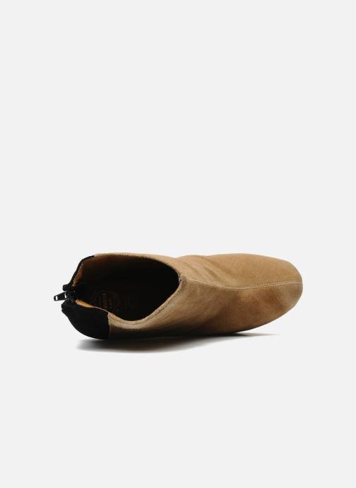 Boots en enkellaarsjes Jeffrey Campbell NITEMATE (WITH GOLD STAR) Beige links