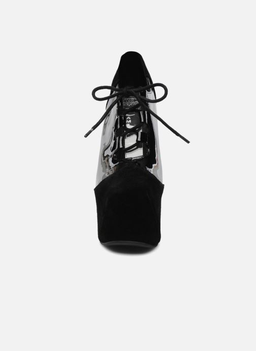 Chaussures à lacets Jeffrey Campbell NITECRAWL Noir vue portées chaussures