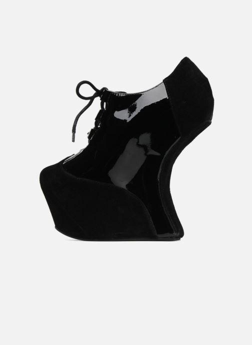 Lace-up shoes Jeffrey Campbell NITECRAWL Black front view