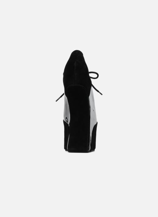 Lace-up shoes Jeffrey Campbell NITECRAWL Black view from the right
