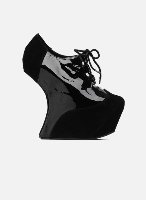 Lace-up shoes Jeffrey Campbell NITECRAWL Black back view