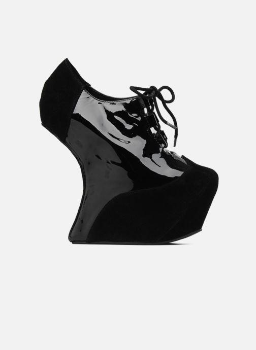 Lace-up shoes Jeffrey Campbell NITECRAWL Black back view