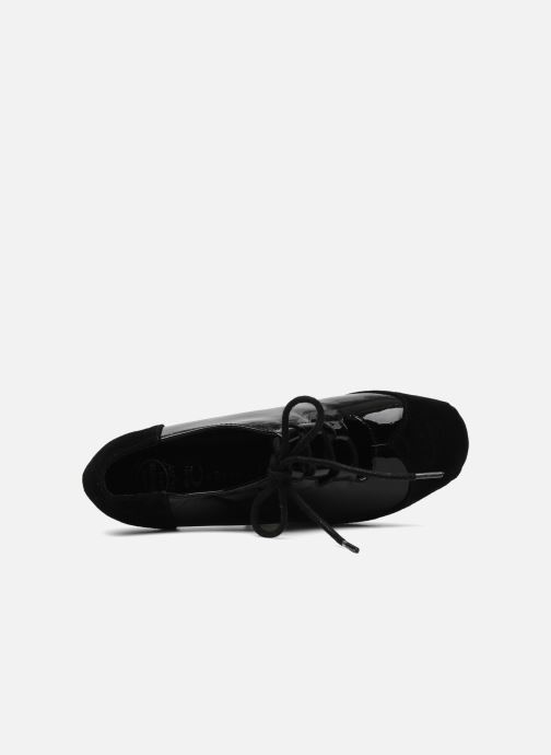 Lace-up shoes Jeffrey Campbell NITECRAWL Black view from the left