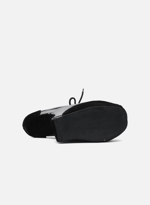 Lace-up shoes Jeffrey Campbell NITECRAWL Black view from above