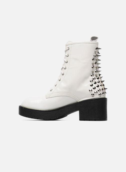Bottines et boots Jeffrey Campbell 8TH STREET Blanc vue face