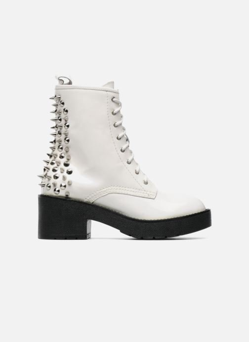 Boots en enkellaarsjes Jeffrey Campbell 8TH STREET Wit achterkant