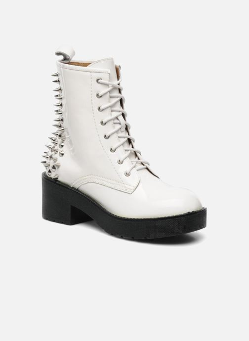 Ankle boots Jeffrey Campbell 8TH STREET White detailed view/ Pair view