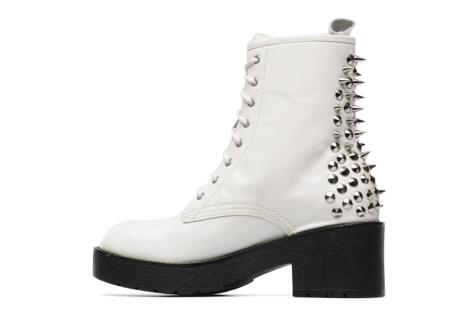 Bottines et boots Jeffrey Campbell 8TH STREET Blanc vue face