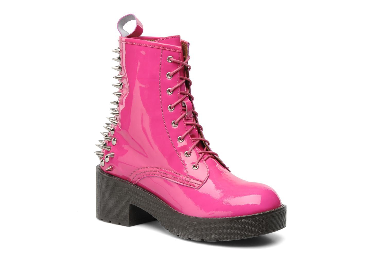 Bottines et boots Jeffrey Campbell 8TH STREET Rose vue détail/paire