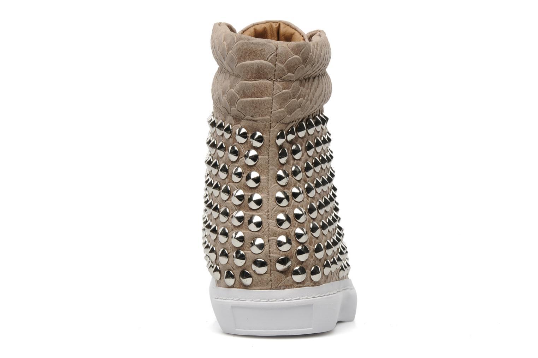 Sneakers Jeffrey Campbell Alva-Hi Beige immagine destra