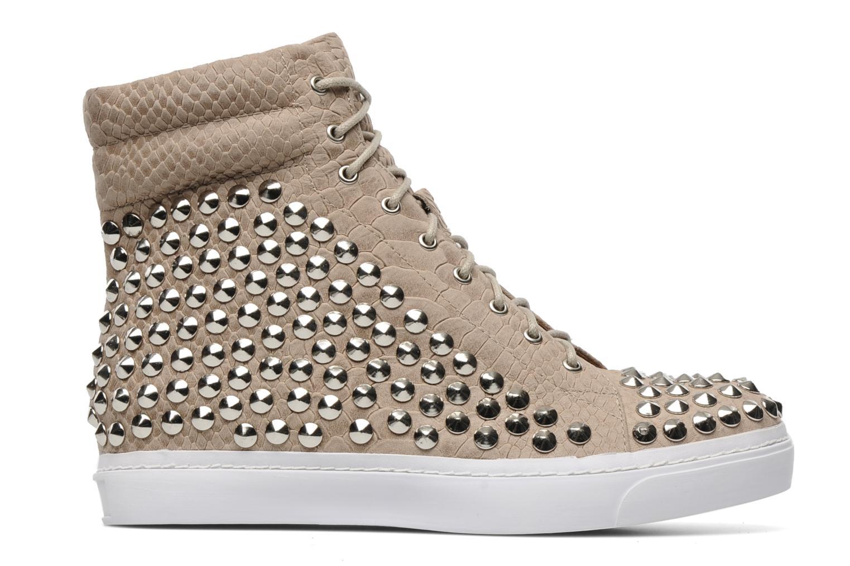 Sneakers Jeffrey Campbell Alva-Hi Beige immagine posteriore