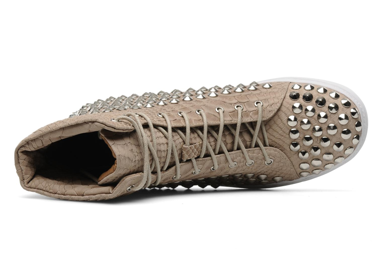 Sneakers Jeffrey Campbell Alva-Hi Beige immagine sinistra