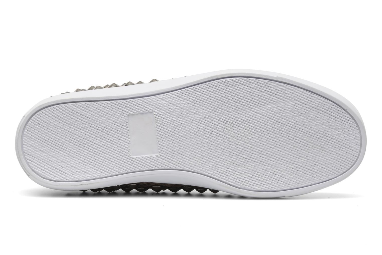 Sneakers Jeffrey Campbell Alva-Hi Beige immagine dall'alto