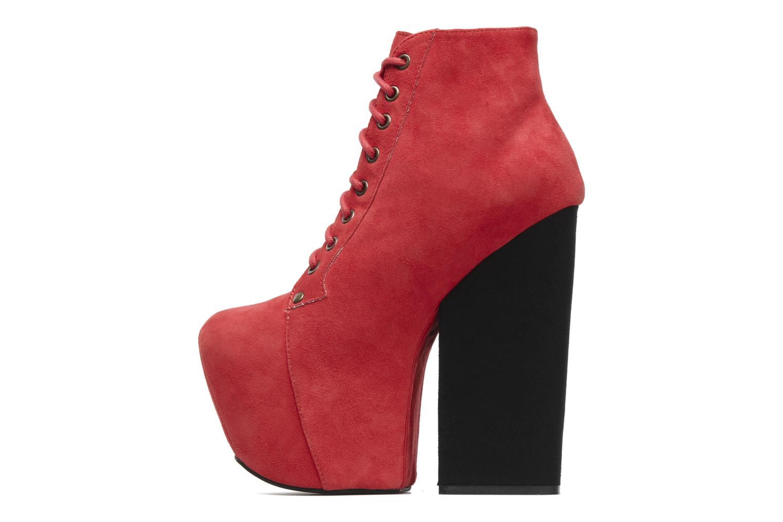 Bottines et boots Jeffrey Campbell FREDA Rouge vue face