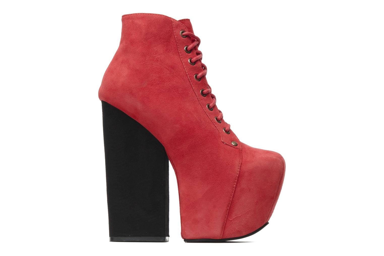 Bottines et boots Jeffrey Campbell FREDA Rouge vue derrière
