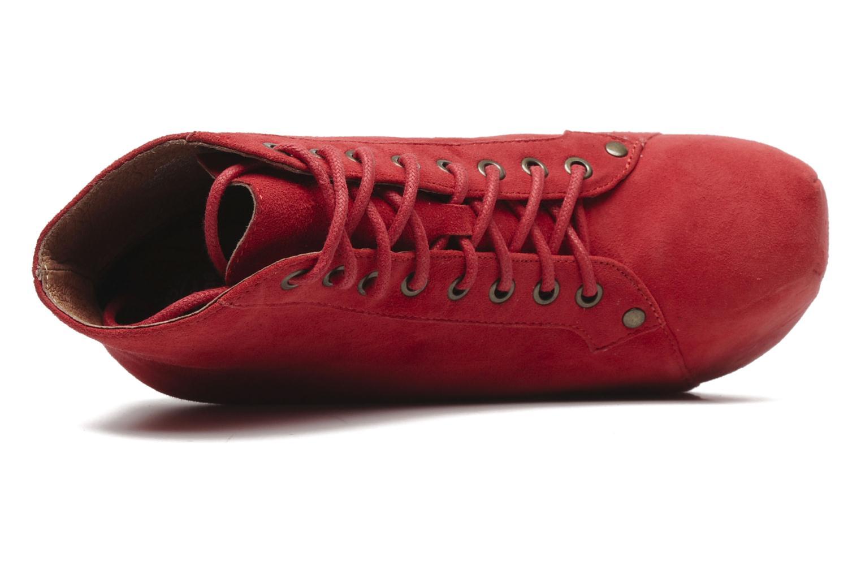 Bottines et boots Jeffrey Campbell FREDA Rouge vue gauche