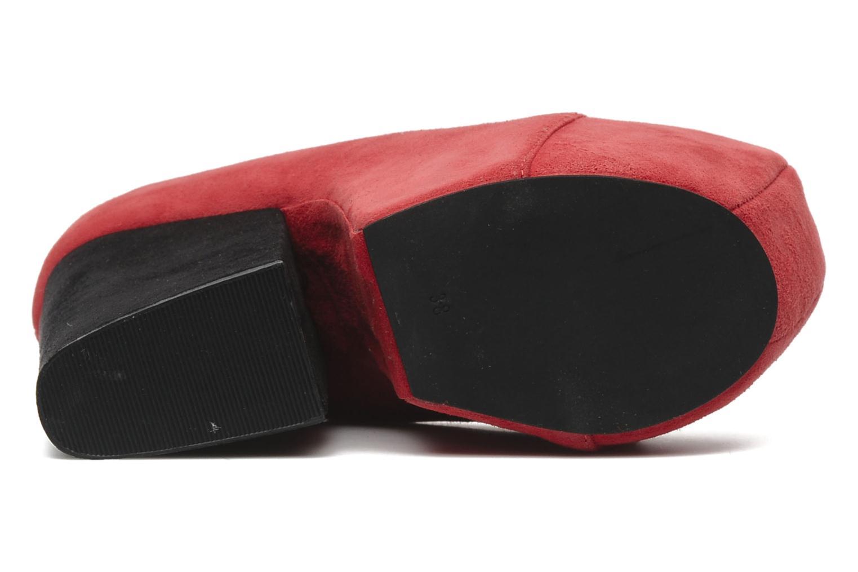 Bottines et boots Jeffrey Campbell FREDA Rouge vue haut