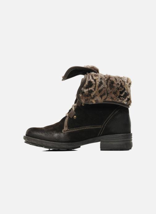 Boots en enkellaarsjes Josef Seibel Sandra 04 Bruin voorkant