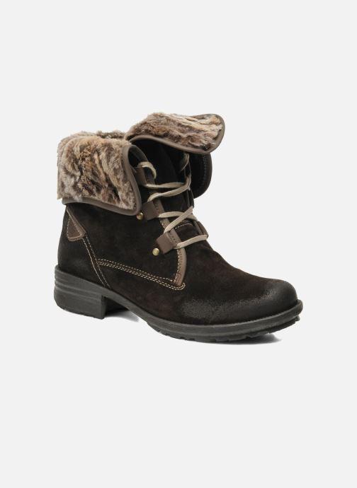 Boots en enkellaarsjes Josef Seibel Sandra 04 Bruin detail