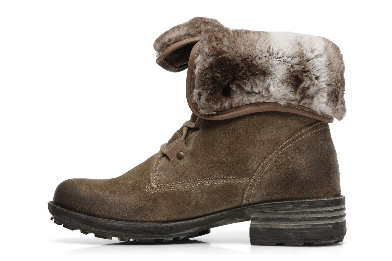 Bottines et boots Josef Seibel Sandra 04 Gris vue face