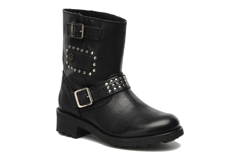 Boots en enkellaarsjes Freeman T. Porter Felicia Zwart detail