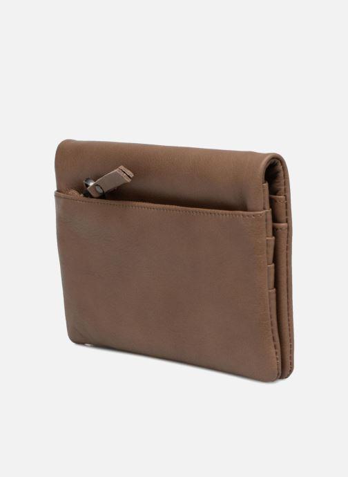 Portemonnaies & Clutches Sabrina Kate braun ansicht von rechts