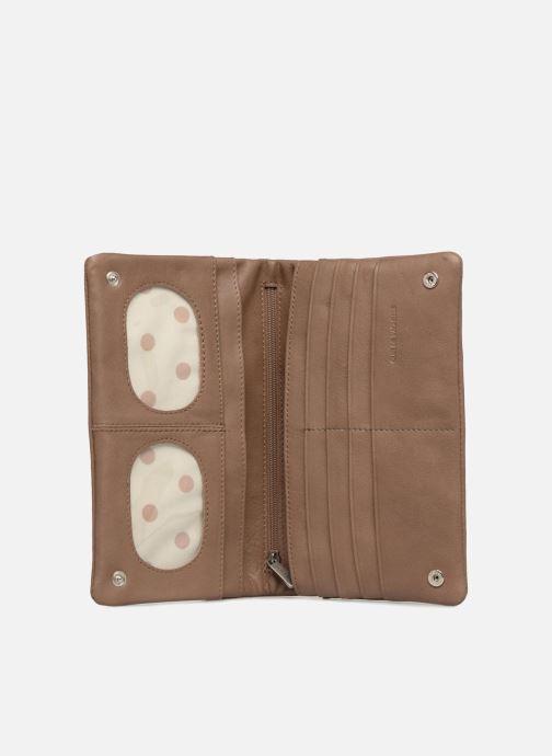 Portemonnaies & Clutches Sabrina Kate braun ansicht von hinten
