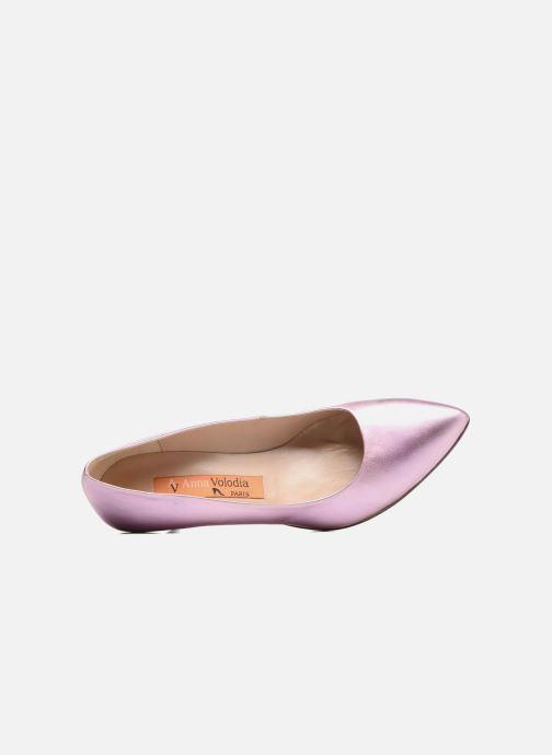 Zapatos de tacón Anna Volodia Ana Rosa vista lateral izquierda